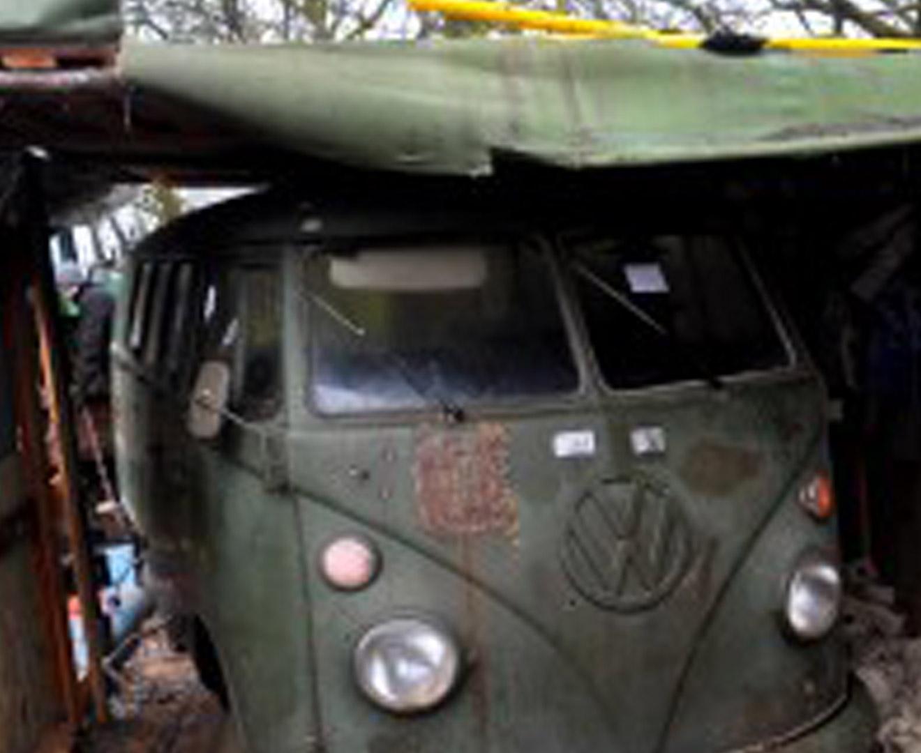VW bussen på VW-träff
